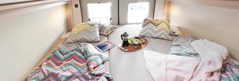 Roadcar Innenausstattung / Schlafzimmer 2018