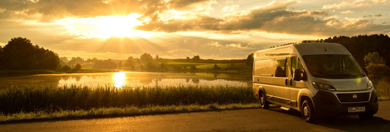 Roadcar in der Abendsonne